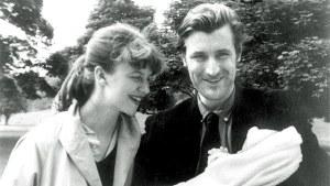 Sylvia Plath et Ted Hughes avec leur fille Frieda