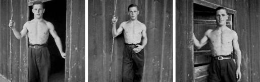 Gustave Roud, vers 1945