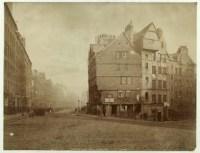 Edimbourg - maison du West-bow
