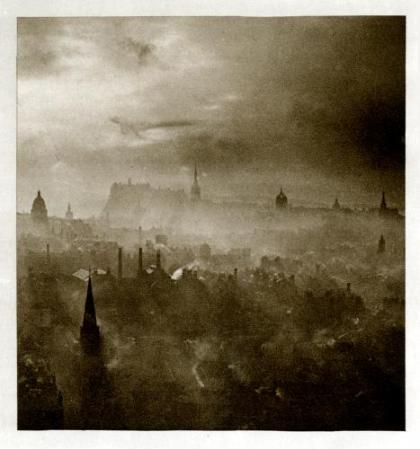 Edimbourg - Auld Reekie - source : Morton HV