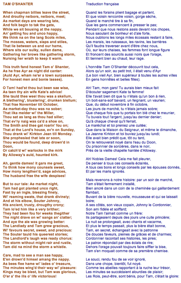 Robert Burns - Tom o'Shanter (2)