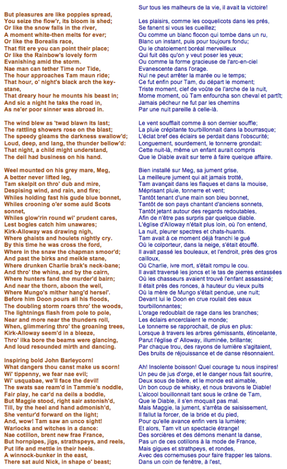 Robert Burns - Tom o'Shanter (3)