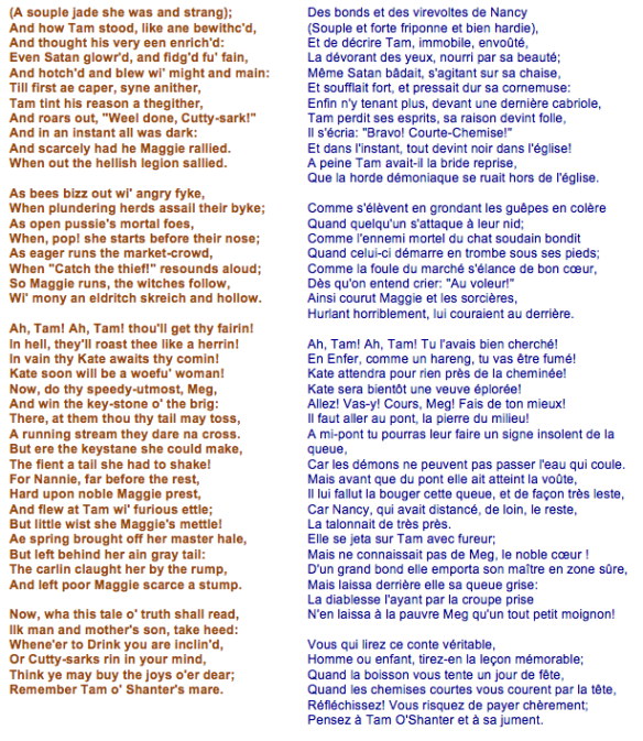 Robert Burns - Tom o'Shanter (4)