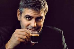 Georgle Clooney dans la célèbre pub Nespresso