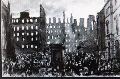 DO Colline (1802-1870) - Le Grand Incendie d'Edimbourg, 1824