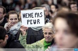 Le suis Charlie à Lyon par @JpKphotographer, AFP