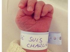 nouveau-né, sur une photo publiée sur Instagram par marine_wood,