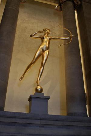 Philadelphia Museum of Arts - statue de Diane - sculpteur Saint-Gaudens