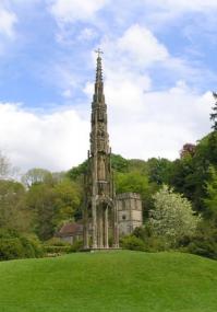 Bristol cross in Stourhead landscape garden