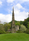 Bristol cross in Stourhead landscape garden