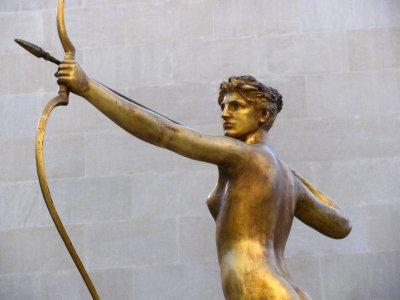 Philadelphia Museum of Arts - statue de Diane - sculpteur Augustus Saint-Gaudens