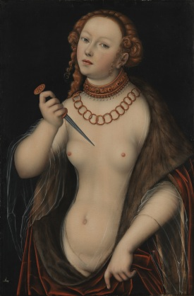 Lucas Cranach l'Ancien - Lucrèce, 1525-1550