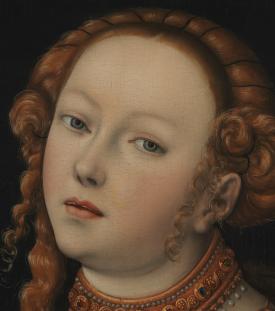 Lucas Cranach l'Ancien - Lucrèce (détail), 1525-1550