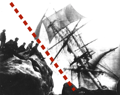 naufrage du Minnehaha aux Îles Scilly, analyse