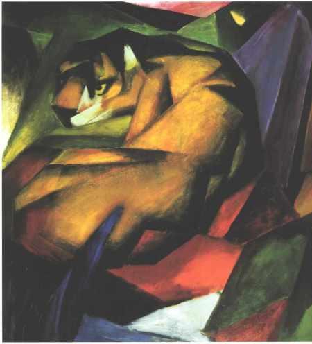 Franz Marc - Le Tigre