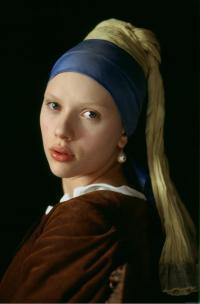 Scarlett Johansson dans le film Girl With the Pearl Earring de Peter Weller, 2003