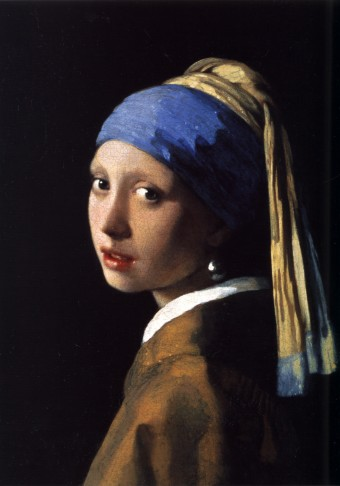 Johannes Vermeer (1632-1675) - La jeune fille à la perle, 1665