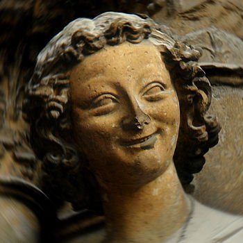 l'ange de la cathédrale de Reims
