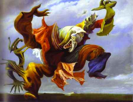 Max Ernst - L'Ange du Foyer