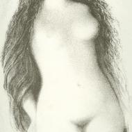ludmila-jirincova-litho-longhaired-nude-girl