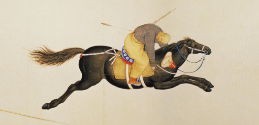Macang Lays Low the Enemy Ranks, handscroll (détail).
