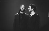 Aaron - Olivier Coursier et Simon Buret du groupe Aaron au Forum de Liège