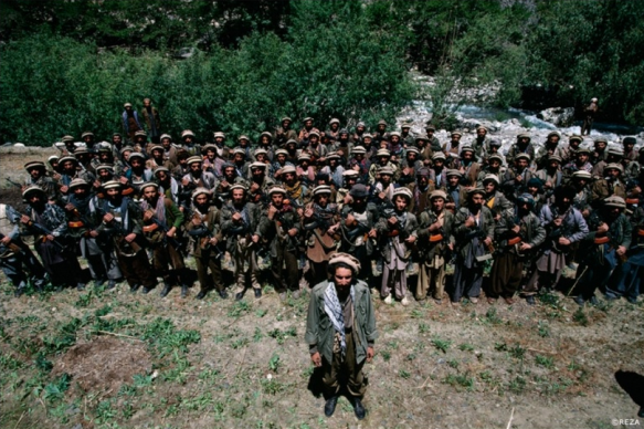 Ahmad Shah Massoud, chef militaire de l'Alliance du Nord