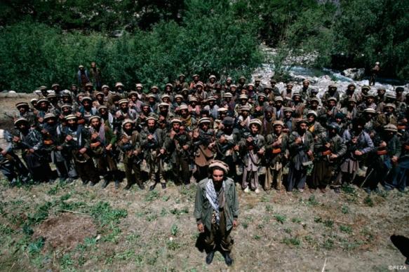 Ahmad Shah Massoud, chef militaire de l'Alliance du Nord