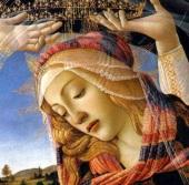 Botticelli,-madone-du-magnificat-détail