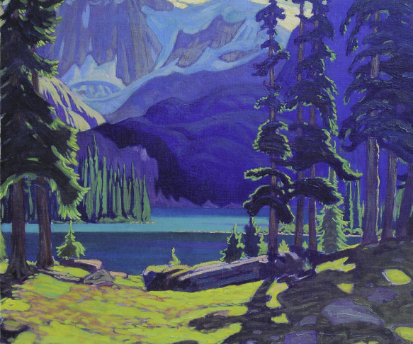 J. E. H. MacDonaldD - The lake O'Hara