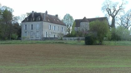 Château de Lourps, décor de La Rade