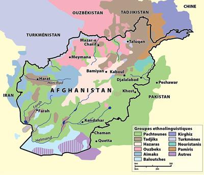 Ethnies de l'Afghanistan
