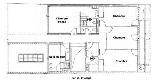 Fontgalland et André - Villa Masson à Issy-les-Moulineaux - plan du niv.2