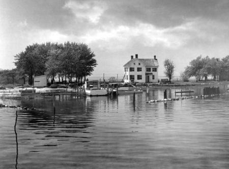 Holland Island tel qu'elle était encore le 18 Octobre 1953
