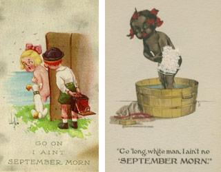 Les premières parodies du XXe siècle de Septembre Morn, 1913