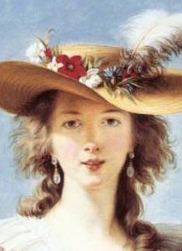 Louise Elisabeth Vigée Lebrun (1755-1842) - détail