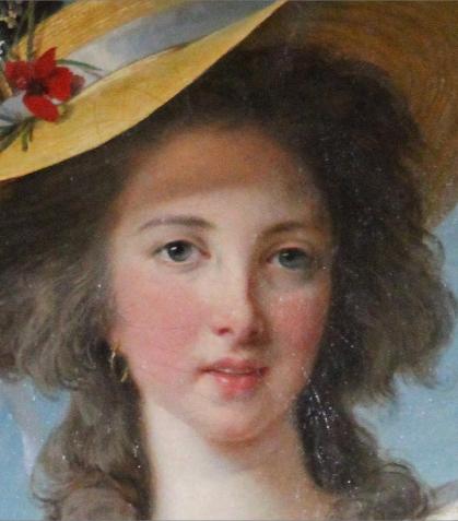 Louise Elisabeth Vigée Lebrun  - Duchesse de Polignac (détail), 1782-