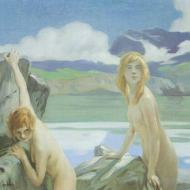 Two_Bathers_by_Paul_Émile_Chabas