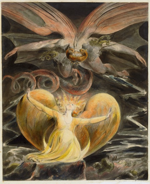 William Blake - The Great Red Dragon and the Woman Clothed with the Sun