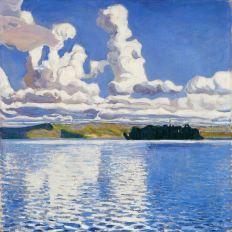 Akseli Gallen-Kallela - Pilvi tornit, 1904