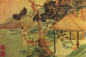 la cérémonie du thé en Chine