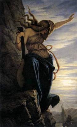 Edward Jakob Von Steinle - La Lorelei,  1864