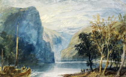 Joseph Mallord William Turner - La Lorelei