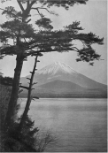 Okinawa Soba (Rob) - Two versions of Fuji san publised by K. Ogawa - T. Enami, circa 1907 from a stereo view