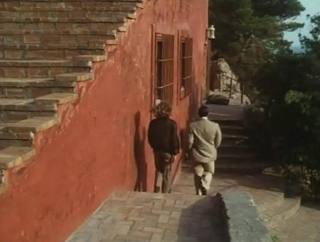 La Peau de Liliana Cavani - Marcello Mastroianni et Alexandra King dans la Cas Malaparte