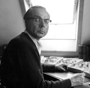 Arno Schmidt vers 1970 (photo Alice Schmidt)