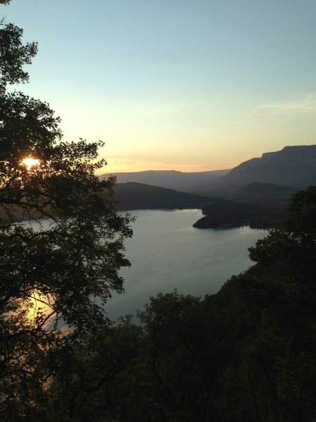 Lac du Bourget sous le col de Chambotte - photo Enki (IMG_0456)