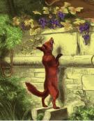 Jean de La Fontaine - Le renard et les raisins