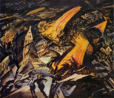 Ludwig Meidner - Paysage apocalyptique, 1912