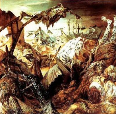 Otto Dix - La Guerre (panneau central), 1929-1932
